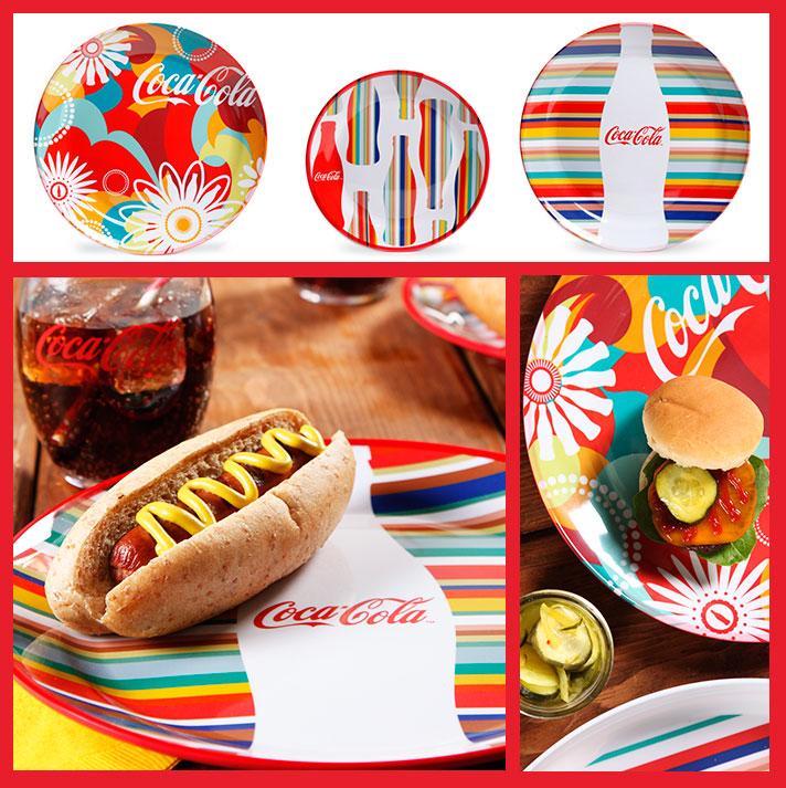 coca-cola dinnerware  sc 1 st  Gibson Overseas Inc. & Gibson Overseas Inc. - Brand - Coca-Cola - Dinnerware